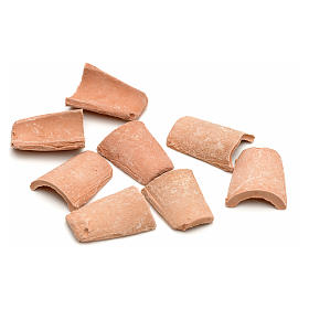 Tejas en terracota de cm 1,5 x 1 s2