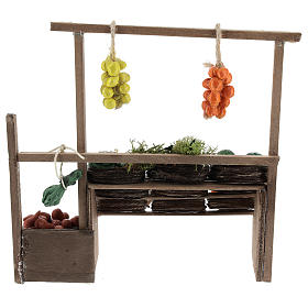 Neapolitan nativity scene accessory, fruit stall s4
