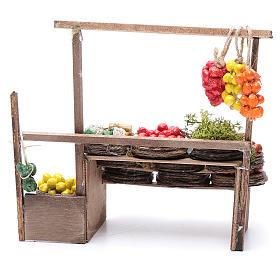 Banco de fruta pesebre artesanal Nápoles s4