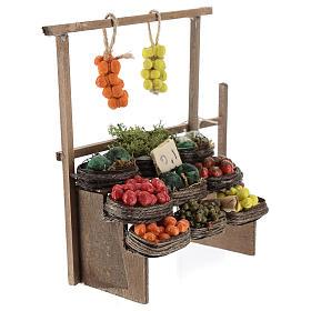 Banc des fruits miniature crèche Napolitaine s3