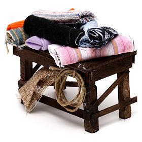Neapolitan Nativity scene accessory, cloth table s2