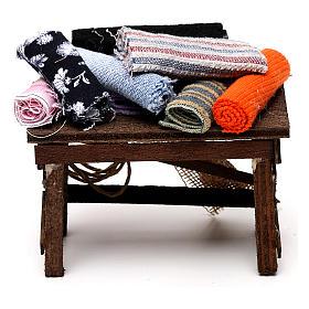 Neapolitan Nativity scene accessory, cloth table s4