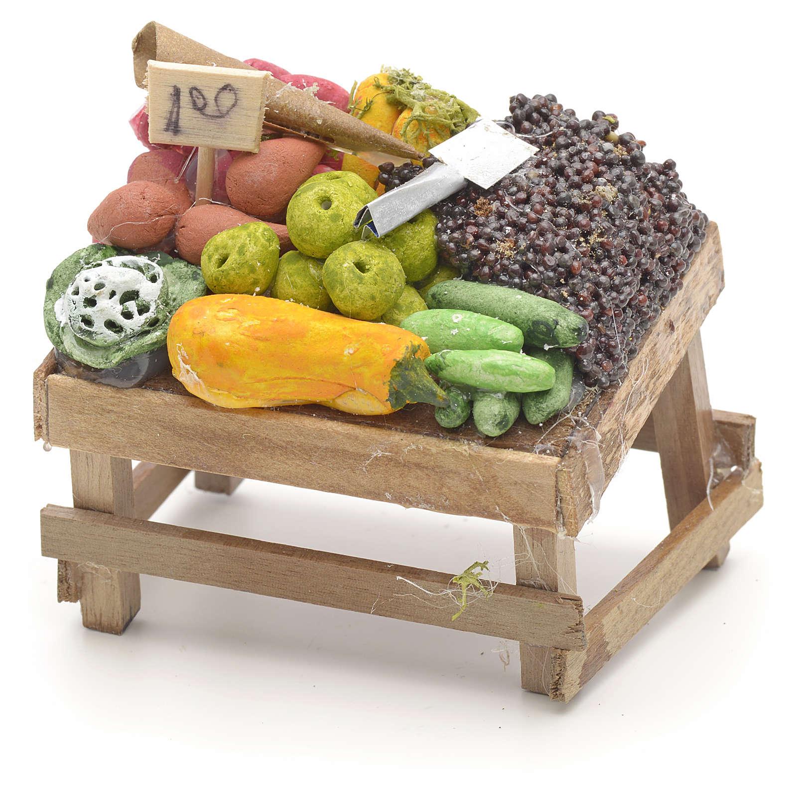 Banco della frutta presepe napoletano 4