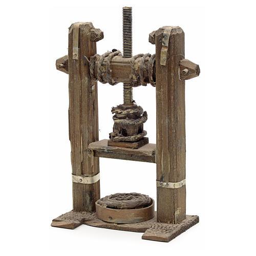 Presse en miniature crèche Napolitaine 1
