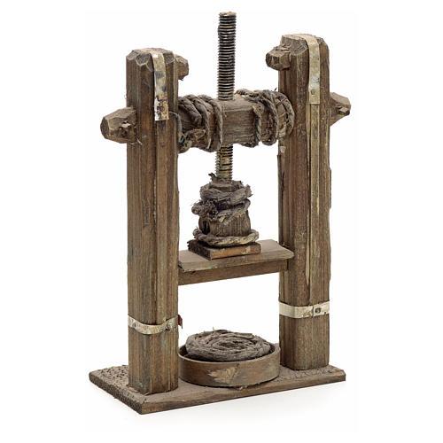 Presse en miniature crèche Napolitaine 2