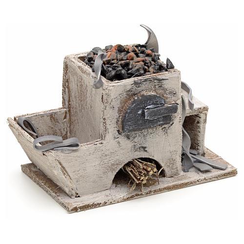 Forge en miniature crèche Napolitaine 2
