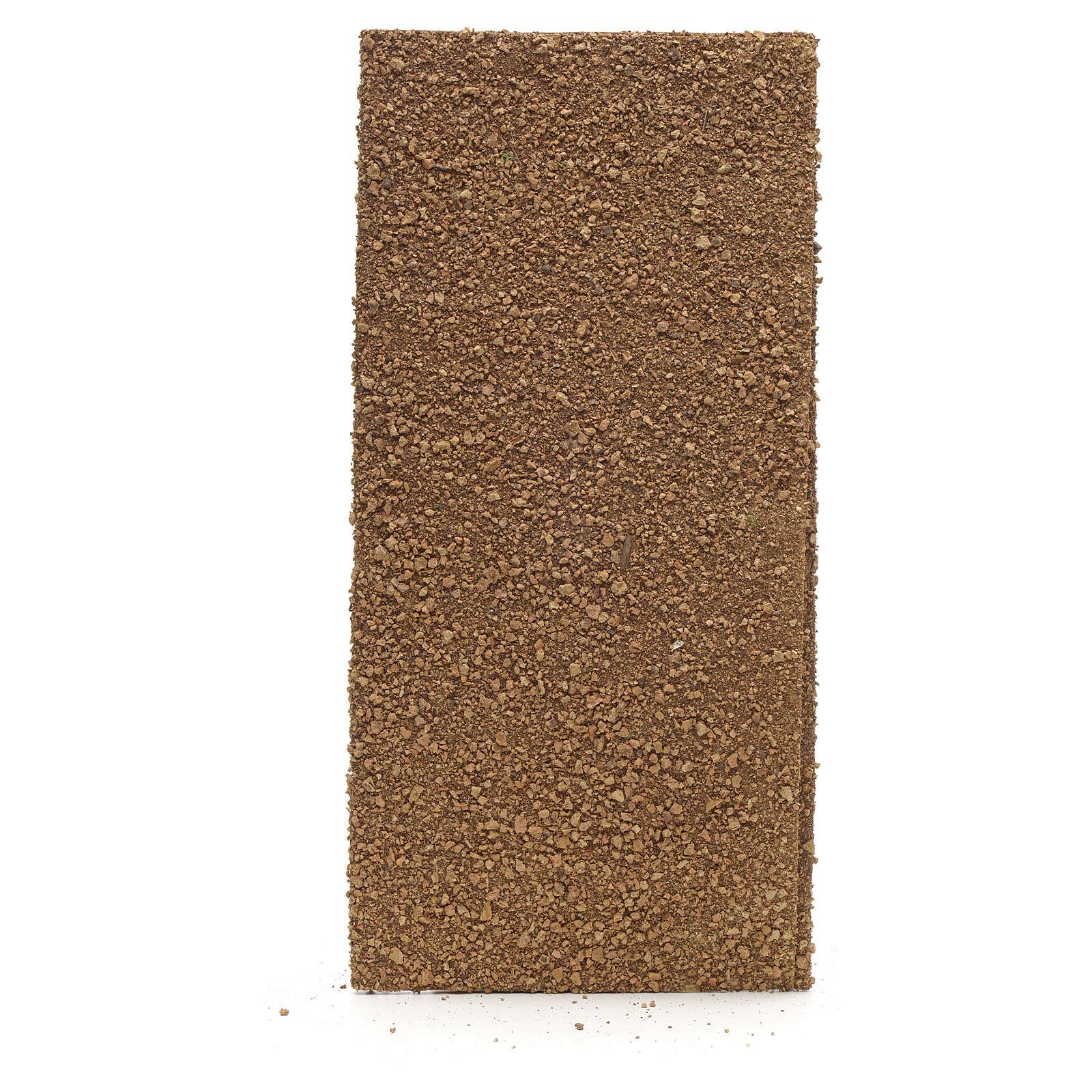 Nativity backdrop, cork paper roll 70x50cm 4