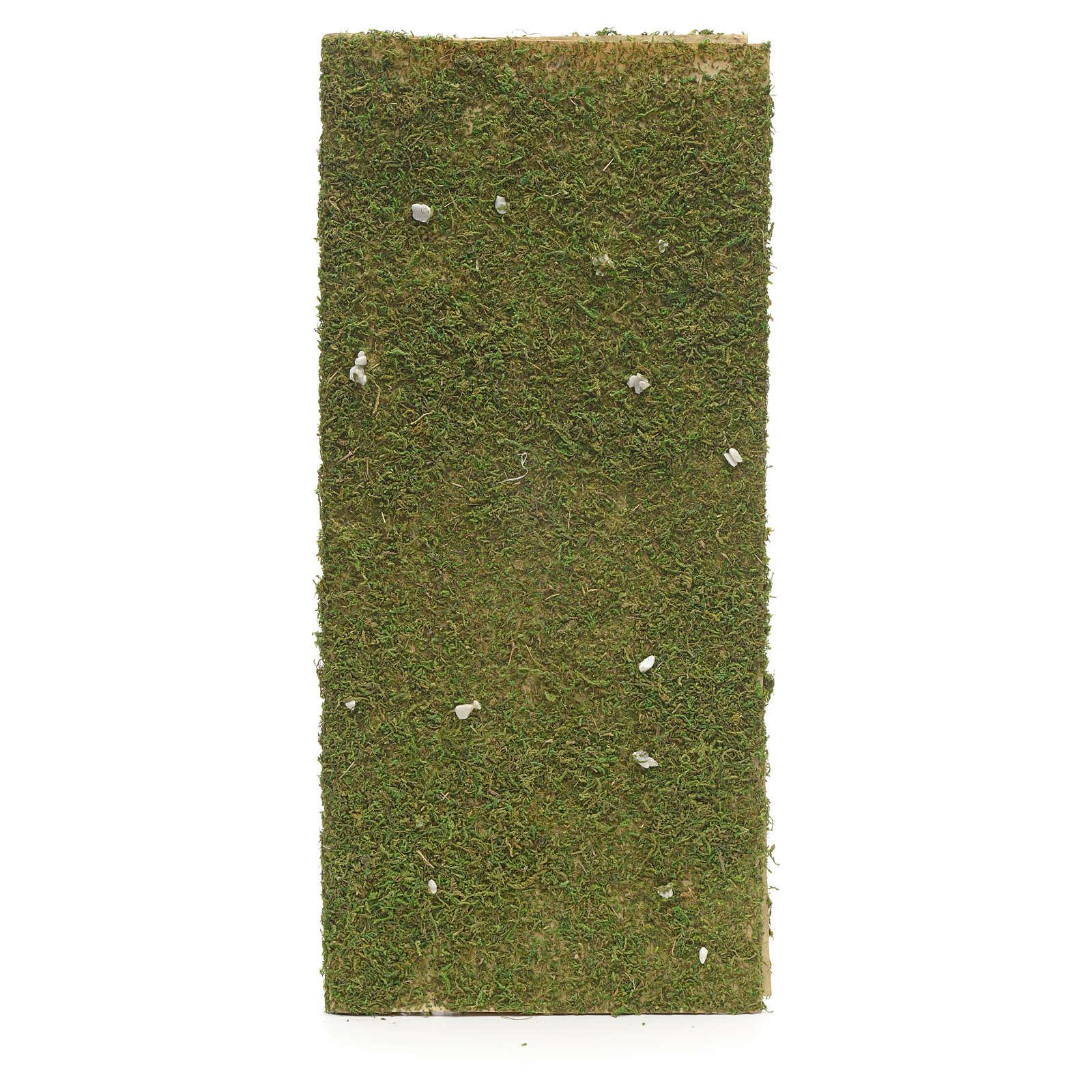 Rouleau papier crèche mousse végétale 4