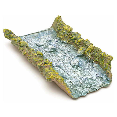 Nativity accessory, straight water stream 22x14x4cm 1