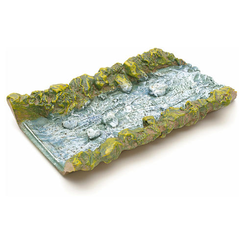 Nativity accessory, straight water stream 22x14x4cm 2