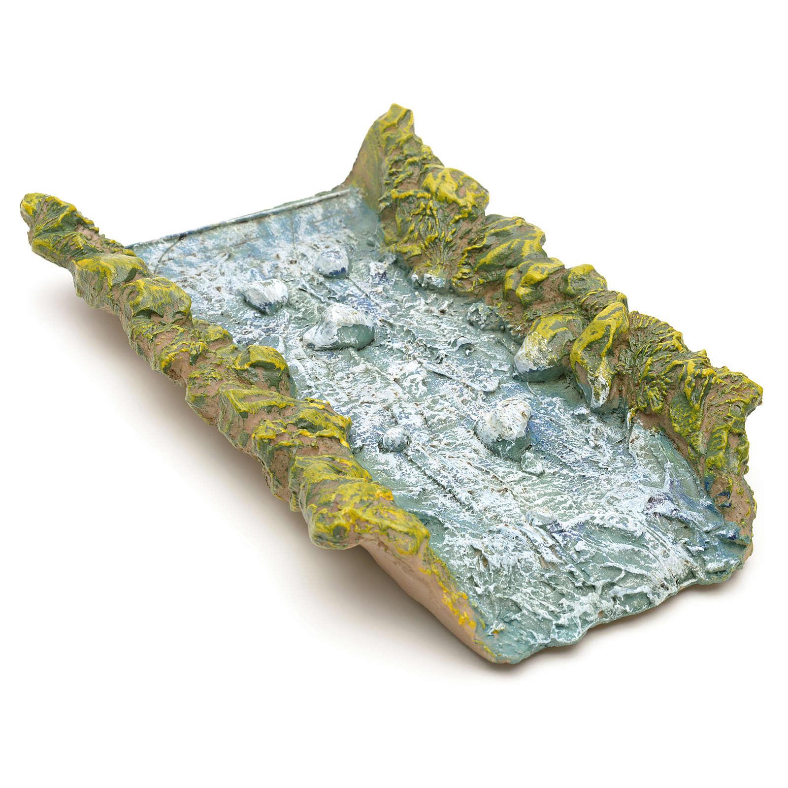 Ribeira resina reta 22x14x4 cm 4