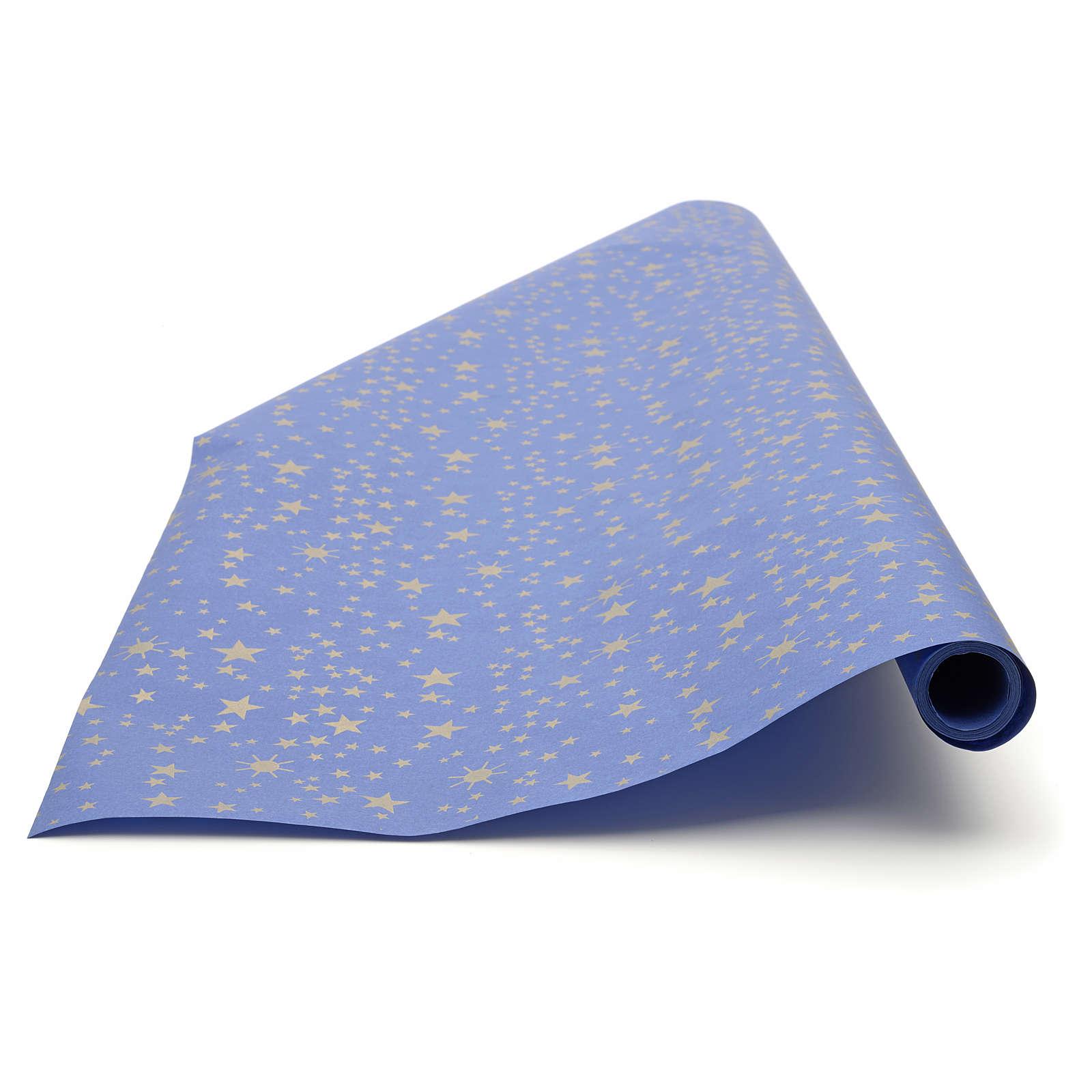 Rollo de papel cielo estrellado 100cm x5 mts 4