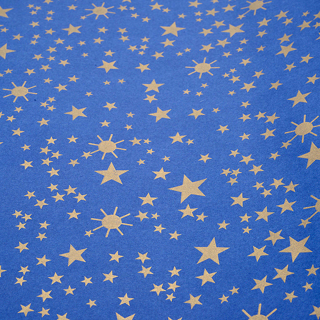 Nativity scene backdrop, starry sky on paper roll 100cm x 5m 4