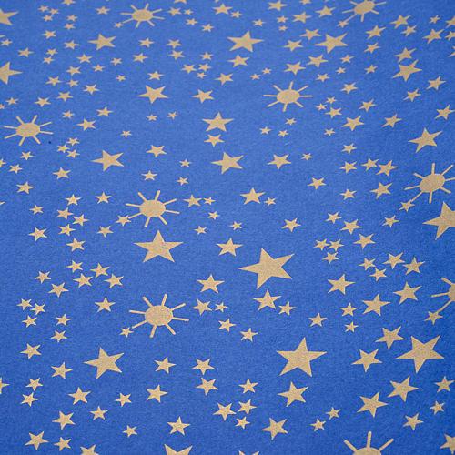 Nativity scene backdrop, starry sky on paper roll 100cm x 5m 1