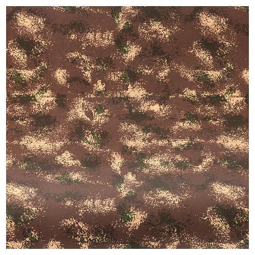 Rotolo carta roccia presepe 100 cm x 5 mt 2