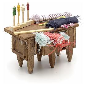 Table du tailleur, accessoire crèche Napolitaine s2