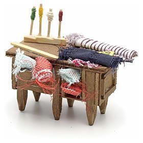 Table du tailleur, accessoire crèche Napolitaine s3