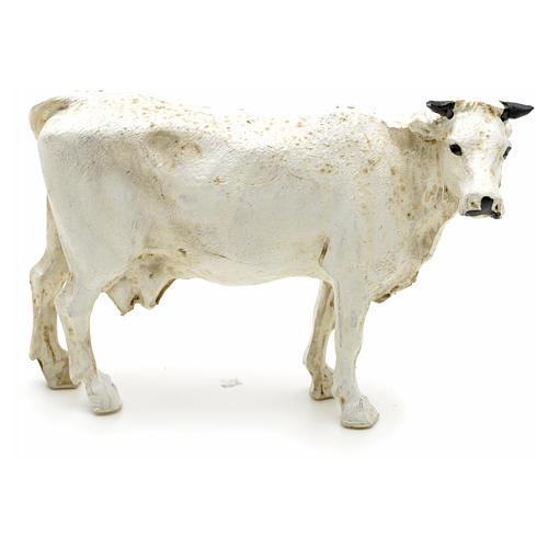 Mucca resina presepe 12 cm 1