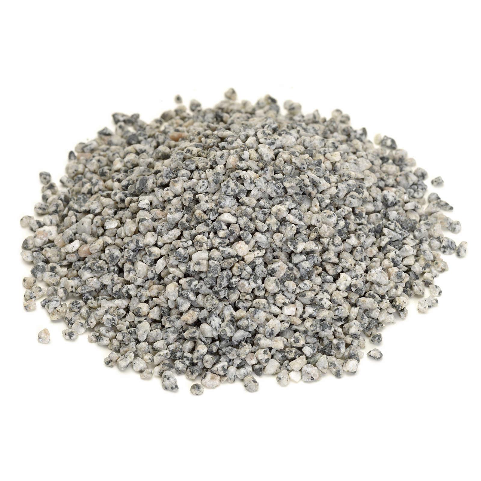 Nativity accessory, fine grey gravel for do-it-yourself nativiti 4
