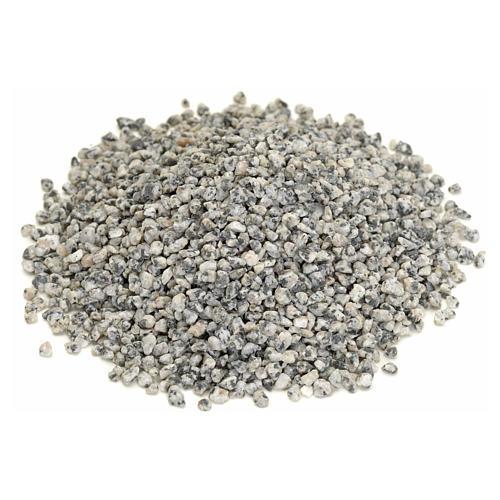 Nativity accessory, fine grey gravel for do-it-yourself nativiti 1
