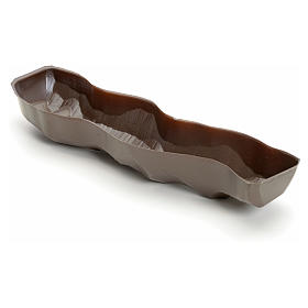 Canaleta para riachuelo pesebre marrón s1