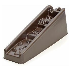 Bomba de agua y motores para movimientos: Cascada marrón con peldaños para pesebre