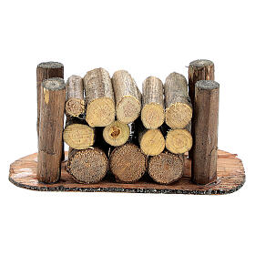 Holzstapel für die Selber-Bauen-Krippe s3