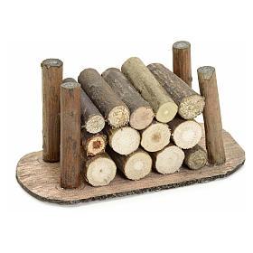 Catasta legna presepe s1