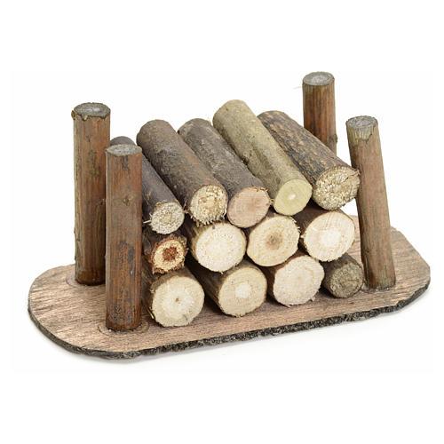 Catasta legna presepe 1