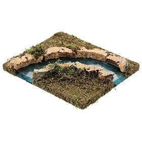 Curva para el río pesebre 14x15 cm s2