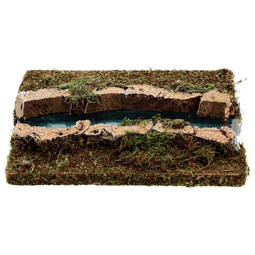 Tramo de río derecho belén madera y musgo 14x16 1
