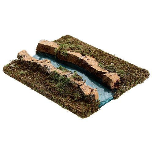 Tramo de río derecho belén madera y musgo 14x16 2