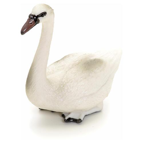 Cisne 12 cm pesebre 2