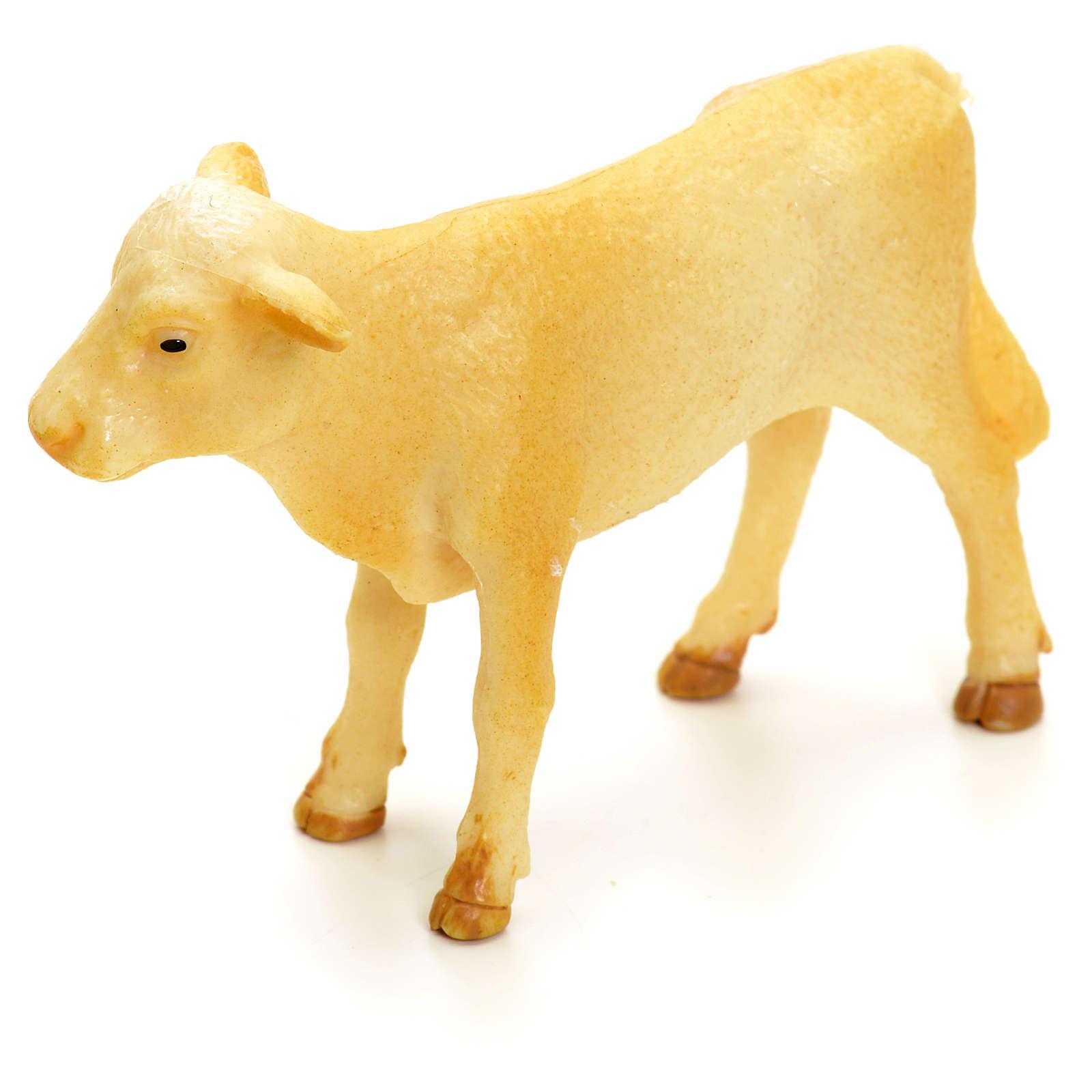 Nativity figurine, calf 10 cm 3