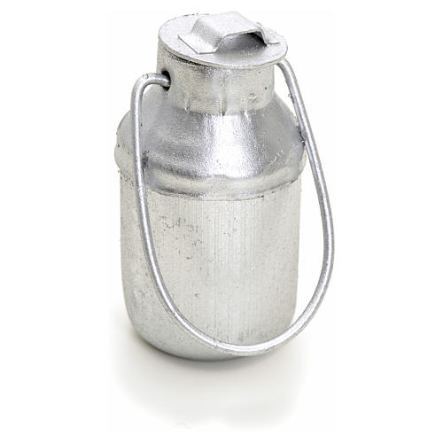Nativity accessory, milk metal container for do-it-yourself nati 2