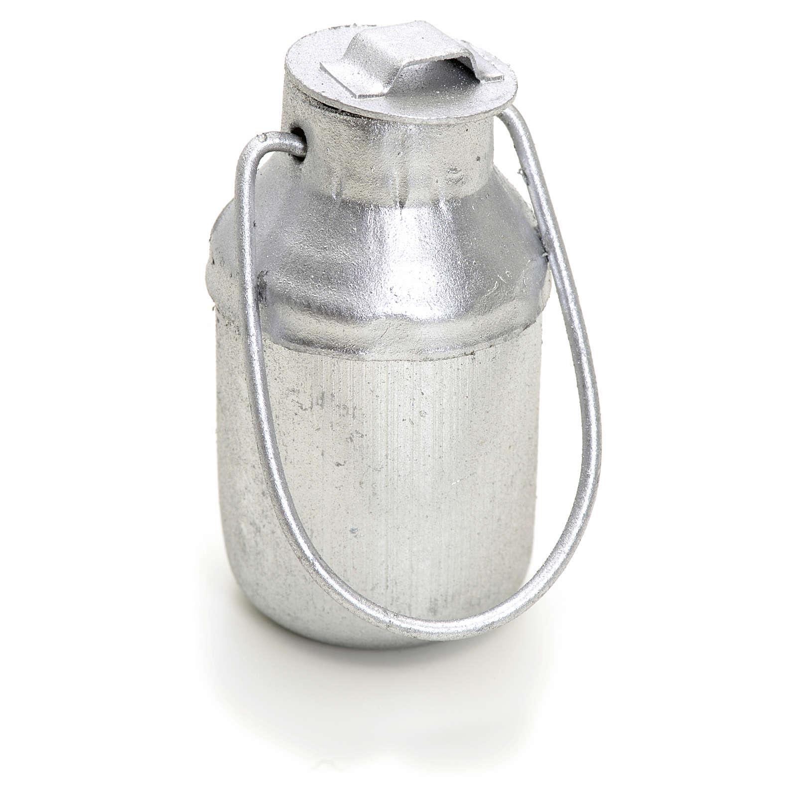 Bidon à lait en miniature pour crèche 4