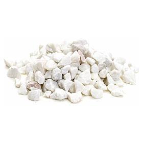 Gravier blanc grand pour crèche 300 gr s1
