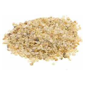 Musgo, Líquenes, Plantas, Pavimentações: Cascalho presépio cor de areia 300 gr