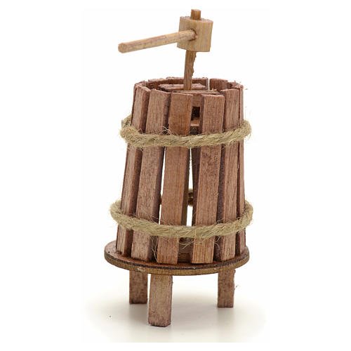 Nativity accessory, wooden press for do-it-yourself nativities, 2