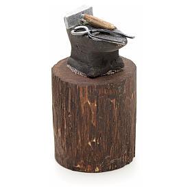 Enclume en miniature pour crèche Napolitaine 12 cm s2