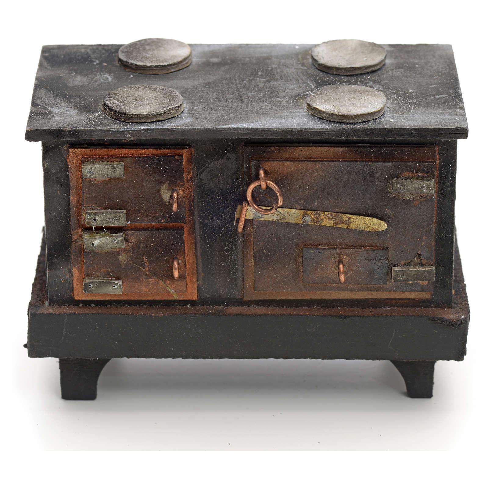 Cucina rustica presepe napoletano cm 12 4