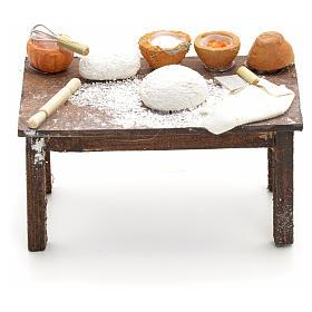 Mesa con masas pesebre napolitano cm 12 s1