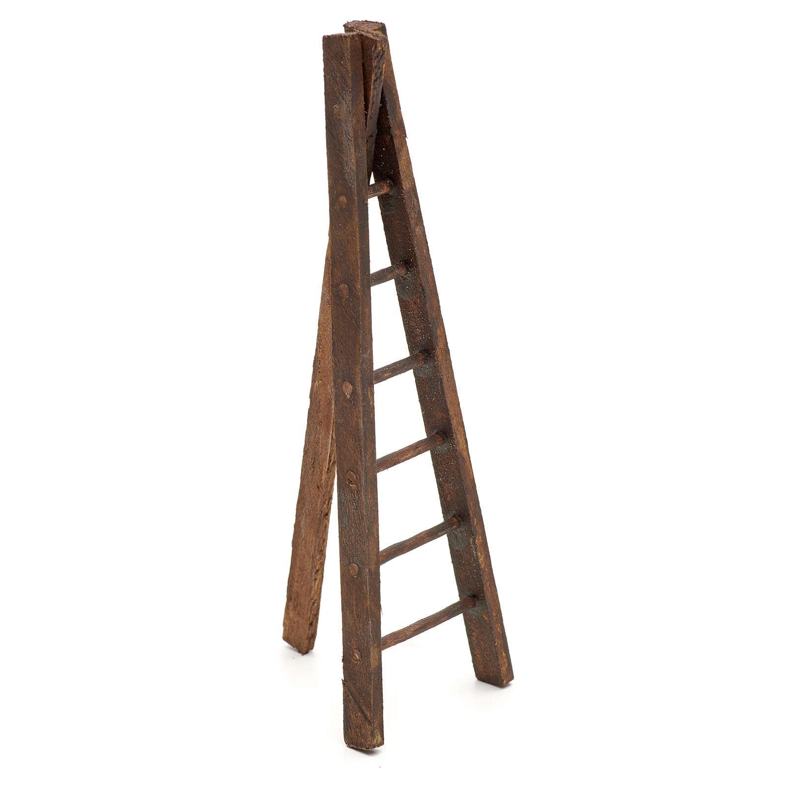 Scala treppiede legno presepe h. 12 4