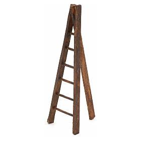 Scala treppiede legno presepe h. 12 s2