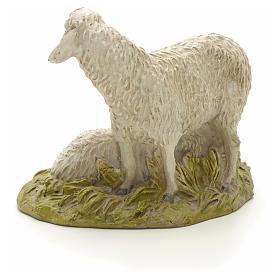 Pecore 12 cm resina Linea Martino Landi s3