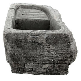 Washtub in plaster for nativities s4