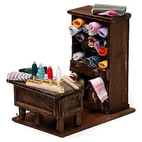Table du couturier en miniature crèche Napolitaine s2