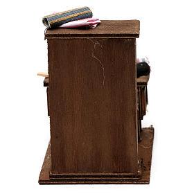 Table du couturier en miniature crèche Napolitaine s4