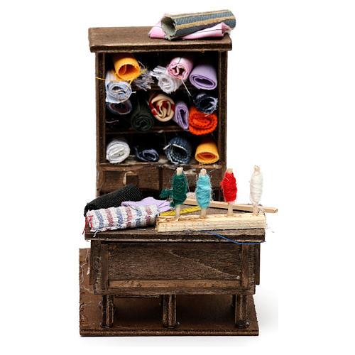 Table du couturier en miniature crèche Napolitaine 1