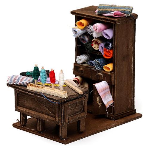 Table du couturier en miniature crèche Napolitaine 2